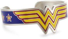 "DC Comics ""Wonder Woman"" Stainless Steel Bracelet"