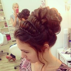 awesome 16 Pretty Grecian Messy Braid Updo Designs – Top Easy HairStyle & Makeup Idea