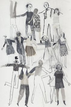 Coyote Atelier illustration inspiration: Isabelle Arsenault.