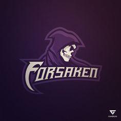 Forsaken Mascot Logo on Behance - American Logo Sport Theme