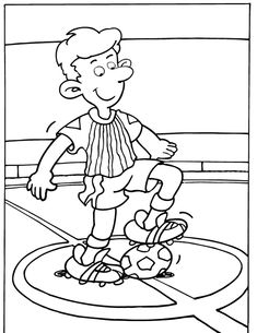 Football Coloring Pages, Sports Coloring Pages, Coloring For Boys, Coloring Pages To Print, Printable Coloring Pages, Coloring Pages For Kids, Coloring Sheets, Life Skills Classroom, Valentine Coloring Pages