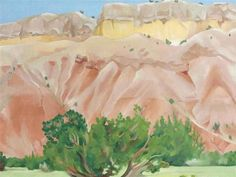 Georgia O'Keeffe, My Back Yard, oil on canvas, 1943