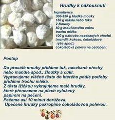 Hrudky Christmas Candy, Christmas Baking, Christmas Cookies, Sweet Tooth, Fondant, Food And Drink, Sweets, Snacks, Cake