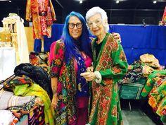 Iris Apfel et moi! TantieNYC@aol.com