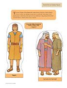 February 2012, Book of Mormon scripture figures. This year 10 issues of The Friend will have scripture figures to cut out and use. You can also find them online and print them.