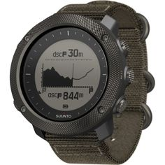 The ultra durable exterior, GPS timekeeping, daily activity tracking, and smartphone push notifications make the Suunto Traverse Alpha a perfect wilderness companion for the hunter, fisherman, and weekend warrior.