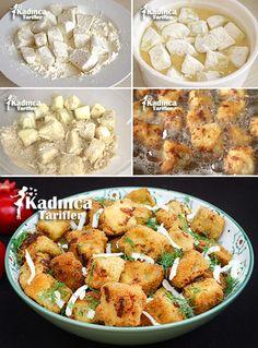 Galeta Unlu Patlıcan Kızartması Tarifi