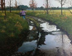 Walk Away by Martin Gale Walking Away, Irish Art, Mountains, Landscape, Artist, Nature, Travel, Scenery, Naturaleza