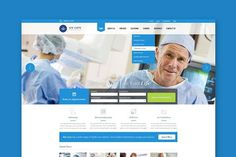 We care - Medical HTML Template. HTML/CSS Themes