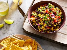 Summertime is salsa time. Whether you're looking to spice up a weeknight dinner or you're making a big batch of dip to accompany your trusty stash of tortilla chips, salsa is the easy add-on you need. This one is fresh, flavorful, creamy, and … Dip Recipes, Mexican Food Recipes, Appetizer Recipes, Cooking Recipes, Ethnic Recipes, Cooking Ideas, Summer Recipes, Delicious Recipes, Yummy Food