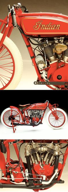 1921 Indian motorcycle. If I ever got a motorcycle, this would be the one.