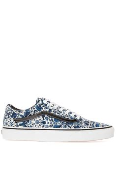 The Vans x Liberty of London Old Skool in Floral Vines Multi  #libertyoflondon #sneaker #skate #kicks #floral #pattern #fashion #fall14 #style #street