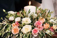 Greek inspired arrangement Greek, Table Decorations, Inspired, Floral, Inspiration, Furniture, Home Decor, Biblical Inspiration, Decoration Home