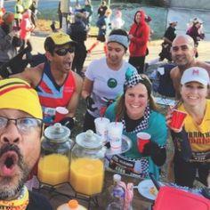 The Route 66 Half Marathon showcases the best of Tulsa, Oklahoma Race Party, Route 66, T Rex, Marathon, Racing, Wanderlust, Travel, Mimosas, Adventure Awaits