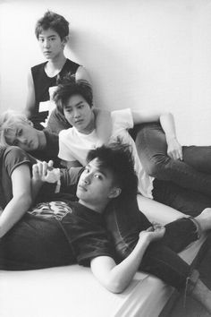 Chanyeol, Sehun, Suho, Baekhyun, and D.O. Chanyeol Baekhyun, Park Chanyeol, 2ne1, Got7, Dramas, Exo Group, Culture Pop, Kim Minseok, Exo Ot12