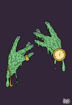 drawing art hip hop rap dope graphics hands cali california Sketch monster graphic design gold zombie west side Vector frankenstein west coast best coast westside california love hand signs zombie hands monster hands