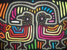 Kuna Tribe Bird Mola Panama San Blas-12.67770