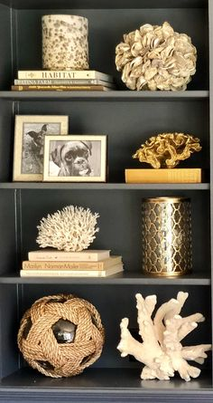 Project Design-Easy Steps to Style Your Shelves - Cindy Hattersley Design