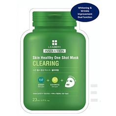Leaders Insolution 4 Types Skin Healthy One Shot Korean Face Mask 8Pack 2 Each -- Check out this great product. (This is an affiliate link and I receive a commission for the sales) #hashtag