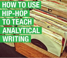 When her History of Hip-Hop students struggled with pre-writing, Professor Cain created a guided ideation lesson to help them craft an album review in record time.