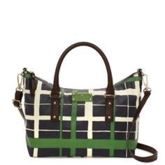 Kate Spade Handbag Adorable navy and green Kate Spade handbag. Such a classic, preppy look! In great condition! Make an offer! kate spade Bags