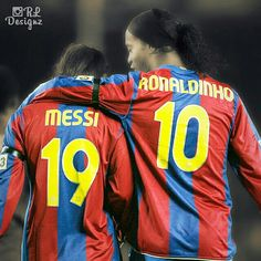 Once Upon A Time - @leomessi @ronaldinhooficial - #Beasts!