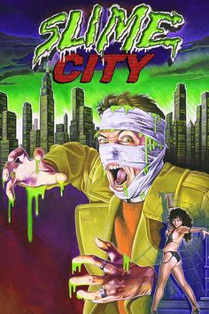 Slime City Gregory Lamberson☆Craig Sabin, Mary Huner, T. 80s Posters, Horror Movie Posters, Horror Movies, American Horror Movie, Scary Snakes, Cryptozoology, Movie Collection, Horror Art, Slime