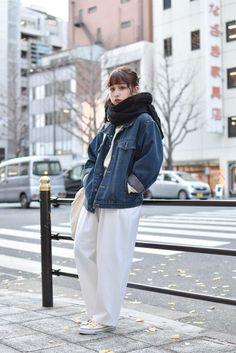 ストリートスナップ大阪 - ゆんゆんさん - CONVERSE, GU, used, コンバース, ジーユー, 古着