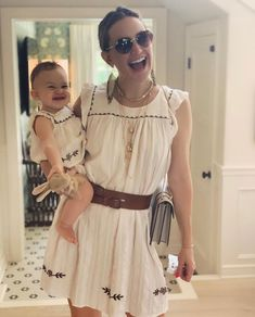 kate hudson in matching boho dresses with daughter Goldie Hawn, Kate Hudson, Oliver Hudson, Channing Tatum Instagram, Bellamy, Taylor Swift Outfits, Pippa Middleton, Buy Dress, White Dress