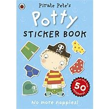 Pirate Pete's Potty Sticker Activity Book - great for boys that love pirates :-)
