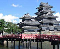 Castelo Matsumoto, Japão.