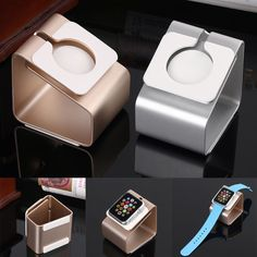 - High quality. - Compatible with Apple Watch 38mm & 42mm. - Holding the iWatch stable and provides comfortable viewing with 25° angle. - Special cutout for the Apple Watch chargers and cable(iWatch n