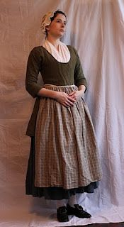 Diary of a Mantua Maker: Jackets: Short gown. It's very simple, being a… 18th Century Dress, 18th Century Costume, 18th Century Clothing, 18th Century Fashion, Vintage Outfits, Vintage Dresses, Vintage Fashion, Victorian Dresses, Historical Costume