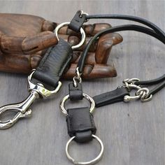 Leather Keychain Original Design Hand Made Mens от Grey56Leather