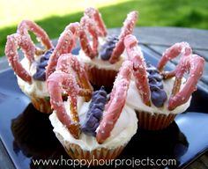 Happy Hour Projects: Butterfly Cupcakes