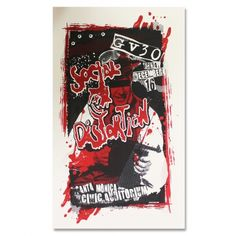 Official Social Distortion merch and music Mike Ness, Social Distortion, Concert Flyer, Rock N Roll, Screen Printing, Nerd, Auditorium, Santa Monica, Flyers