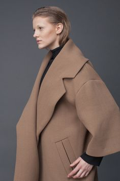 Camel Oversize Coat | LAKE | Shop | NOT JUST A LABEL