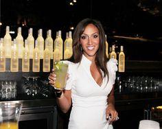 Cheers! Melissa Gorga hosts Voli Light Vodka Mixology session