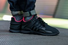 a5f8fd6ff61 adidas EQT Support ADV (Core Black Turbo Red) - Sneaker Freaker