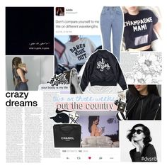 """""""MAMI"""" by half-dust ❤ liked on Polyvore featuring Kenzie, The Ragged Priest, Pier 1 Imports, NIKE, Chanel, Assouline Publishing, ganggang and dvsnbg"""