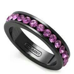 Gothic Purple Ring