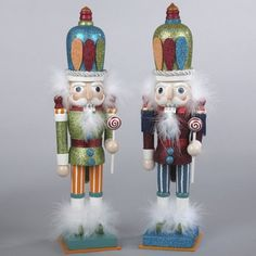 "$39.99-$49.99 Green Wooden Candy Kingdom Hollywood Christmas Nutcracker 15"" -  http://www.amazon.com/dp/B005CQZDHW/?tag=pin2wine-20"