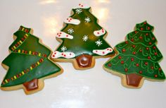 Medium Christmas Trees by Cookie Couture, LLC, via Flickr