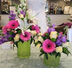 Fresh and fragrant spring centerpieces designed by 1800Flowers|Flowerama Iowa City