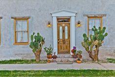 The beautiful Barrio Viejo in Tucson Arizona. Photography by www.azfoto.com