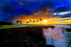 Maui Sunset...I need to go here.