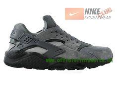Nike Air Huarache - Chaussure Nike Sportswear Pas Cher Pour Homme Gris 318429-082