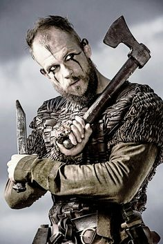 One of the most badass characters on vikings FLOKI