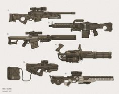 cyberpunk firearms - Google Search