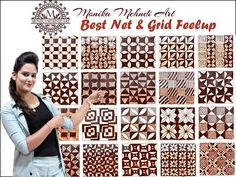 "Hello friends welcome back to monika mehndi art today i am upload my new video "" Make Creative grid & net feelup"" Floral Henna Designs, Basic Mehndi Designs, Back Hand Mehndi Designs, Henna Art Designs, Mehndi Designs 2018, Mehndi Designs For Beginners, Mehndi Designs For Girls, Wedding Mehndi Designs, Mehndi Designs For Fingers"